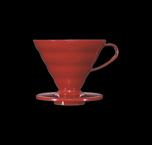 Hario V60 Red plastic 02